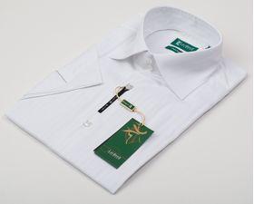 900015LМК Мужская рубашка айвори приталенная LauRenZ