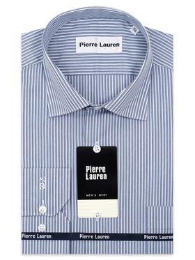 Мужская рубашка в полоску из 100% хлопка