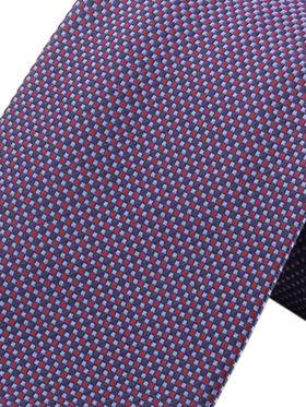 Фиолетовый мужской галстук с текстурным узором. Галстук шириной 9 см у основания.
