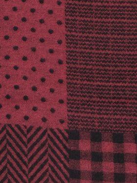 Полушерстяной мужской шарф из шерсти и вискозы