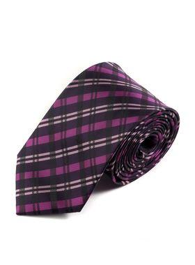 Прекрасный мужской галстук в широкую клетку