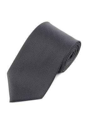 Красивый мужской галстук цвета серый металлик