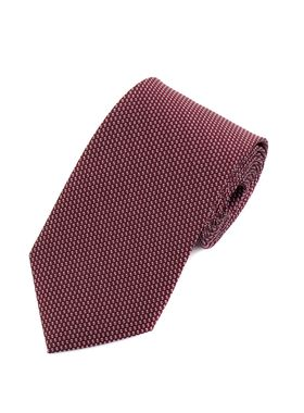 Классический бордовый мужской галстук с узором