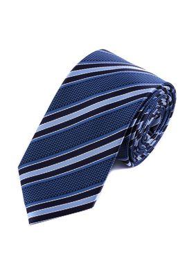 Классический мужской галстук в полоску