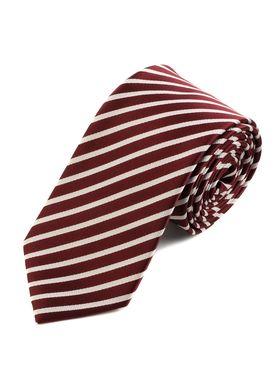 Бордовый мужской галстук в полоску