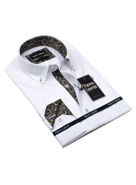 Интересная мужская рубашка прямого покроя Classic