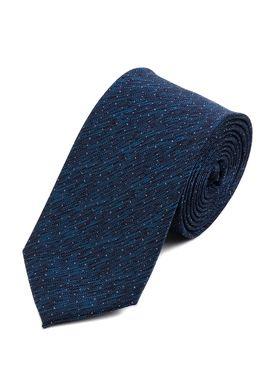 Интересный мужской галстук бирюзового цвета.
