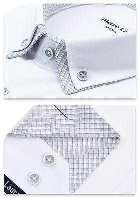 Белая мужская рубашка Elegance приталенного кроя Super Slim Fit