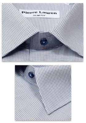 Серая приталенная мужская мужская рубашка Super Slim Fit