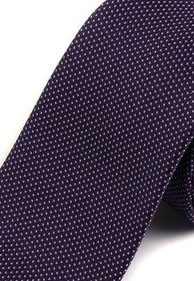 Красивый фиолетовый мужской галстук