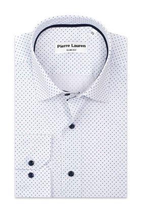 Классическая мужская рубашка больших размеров прямого покроя