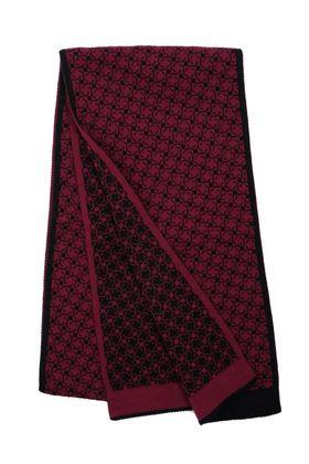 Вязаный мужской шарф из шерсти и акрилаВязаный мужской шарф из шерсти и акрила
