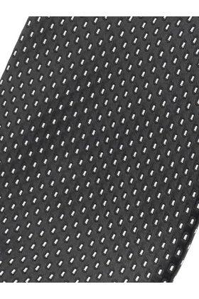 Черный мужской галстук с узором, шириной 9 см у основания
