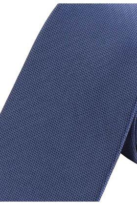 Красивый мужской галстук синего цвета.