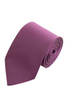 Однотонный фиолетовый мужской галстук