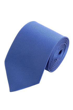 Нарядный синий мужской галстук из структурной ткани