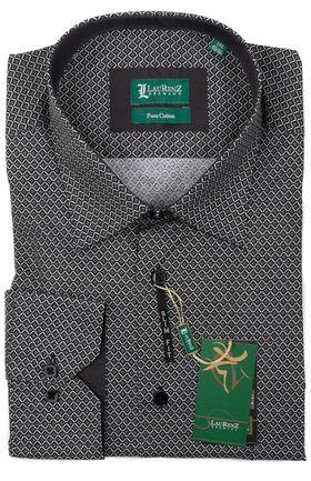 Мужская рубашка с длинным рукавом из 100% хлопка