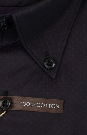 102198JМК Темно-серая мужская рубашка приталенная Jacoe