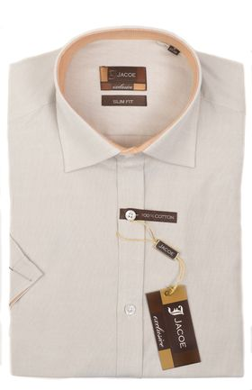 103089JМК Мужская рубашка приталенная Jacoe