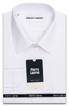 Великолепная мужская рубашка белого цвета