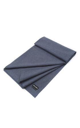 Мужской шарф-палантин голубого цвета
