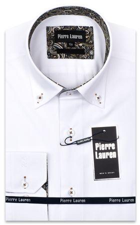 Интересная мужская рубашка прямого покроя Classic Elegance